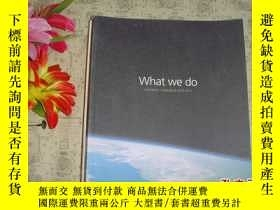 二手書博民逛書店英文原版《WHAT罕見WE DO OFFERING CATALO