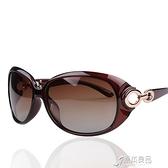 太陽鏡 新款太陽鏡122 偏光眼鏡女潮大框女士漸變色時尚墨鏡 16【快速出貨】
