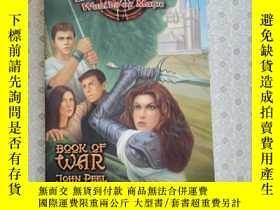 二手書博民逛書店32開英文原版罕見Diadem worlds of magic 7 Book ofwar Y281995