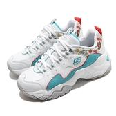 Skechers 老爹鞋 D3 Line Friends 白 藍 女鞋 熊大 Brown 聯名 限量【ACS】 66666255WAQ