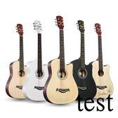 吉它吉他38寸民謠吉他40寸41寸初學者吉他新手入門練習琴男女通用XW