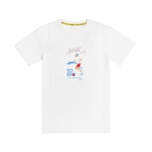 Asics 短袖T恤 JSY Graphic SS T 2 白 藍 男款 櫻花 塗鴉 亞瑟士 運動休閒 【ACS】 2191A254101