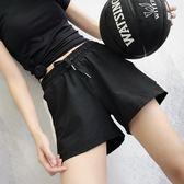 運動短褲 運動短褲女夏速乾寬鬆跑步休閒高腰瑜伽褲防走光健身熱褲 歐萊爾藝術館
