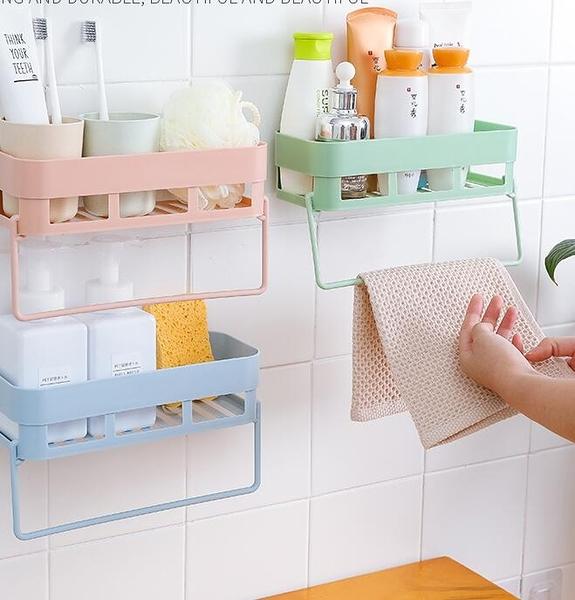 衛生間置物架壁掛浴室吸壁式