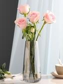 輕奢玻璃花瓶擺件擺飾