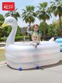諾澳嬰兒童充氣游泳池家庭超大型海洋球池大號成人戲水池加厚家用 萬聖節全館免運 YYP
