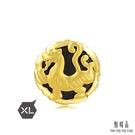 點睛品 Charme XL文化祝福 四神獸-白虎 黃金串珠