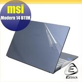 【Ezstick】MSI Modern 14 B11M 二代透氣機身保護貼 DIY 包膜