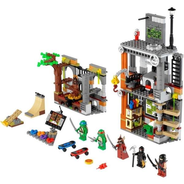 LEGO 樂高 NINJA TURTLES 忍者龜系列 Turtle Lair Attack