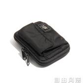 錢夾 潮牌日系WALLET男女手拿包 尼龍布藝短款零錢包 卡包 迷你手拿小包939 自由角落