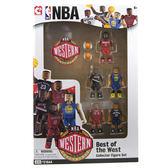 C3 TOYS NBA 明星球員5人積木組-西區 21544