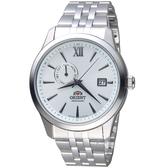 ORIENT東方錶 Classic Design系列簡約日期機械錶 FAL00003W