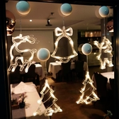 聖誕圣誕節裝飾品場景布置店面店鋪創意小掛飾櫥窗樹掛件節日氛圍裝扮易家樂