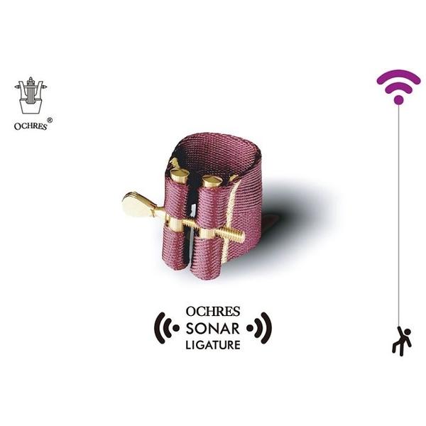 凱傑樂器 OCHRES 聲納束圈 Sonar Ligature 中音 次中音 高音 豎笛 四種款式