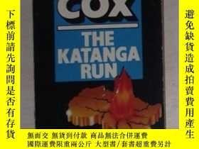 二手書博民逛書店原版英文小說罕見The Katanga Run By Richa