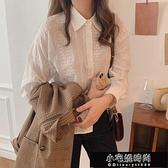 氣質設計感白色蕾絲襯衫 Z11165   【全館免運】