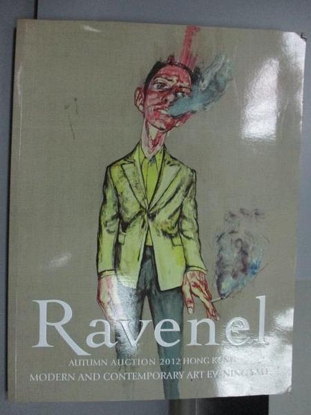 【書寶二手書T4/收藏_PPO】Ravenel_Modern and…Art Evening Sale_2012/11/