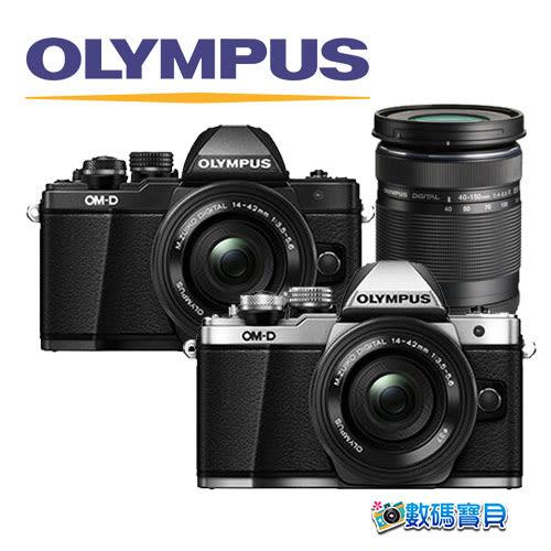 【送SD32G+回函送相機包】OLYMPUS E-M10 Mark II + 14-42mm EZ + 40-150mm 雙鏡組 元佑公司貨 em10