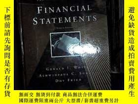 二手書博民逛書店The罕見Analysis and Use of Financial Statements 財務報表的分析和使用奇