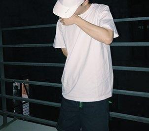 FINDSENSE H1夏季 新款 日本 清新 復古麻葉印花  時尚  寬鬆 潮