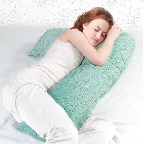 Medlight美德耐-L型翻身枕+枕頭套 防水布1500mg 組合特價