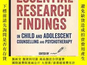 二手書博民逛書店Essential罕見Research Findings In Child And Adolescent Coun