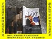二手書博民逛書店Leading罕見with the Heart: Coach K