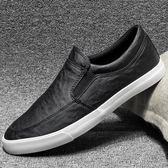 皮鞋夏季新款韓版百搭潮流男士休閒鞋子 JD4803【3C環球數位館】