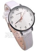 DUKE NICLE 尼克.公爵 彼得潘小仙子 童趣 時尚腕錶 高質感皮革 女錶 學生錶 D5102白