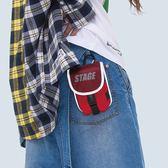 特種部隊便利腰掛包 STAGE SWAT WAIST BAG 黑色/紅色 兩色
