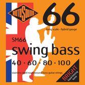 小叮噹的店 英國ROTOSOUND SM66 (40-100) 電貝斯弦 HYBRID 不銹鋼 旋弦公司貨