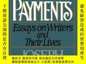 二手書博民逛書店Partial罕見Payments, Essays On Writer s And Their LivesY2