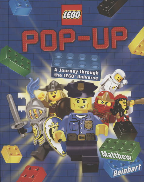 【樂高立體書】A JOURNEY THROUGH THE LEGO /PUP-UP