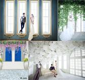主播背景布韓式影樓婚紗背景紙 主題婚紗攝影背景 室內影樓攝影背景背景訂製 新年特惠