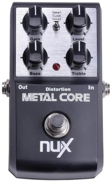 ☆唐尼樂器︵☆免運費送短導 NUX METAL CORE Deluxe Distortion 金屬 破音 單顆 效果器