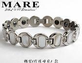 【MARE-316L白鋼】系列:橢型  (珍珠母貝)  款