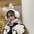 耳罩 圣誕禮物耳罩耳套保暖女毛絨耳包冬季韓版少女可愛防凍折疊耳帽暖【快速出貨八折下殺】