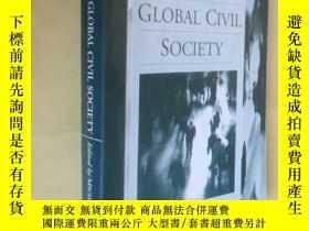 二手書博民逛書店英文原版罕見走向全球公民社會 Toward a Global Civil Society by Terry Nar