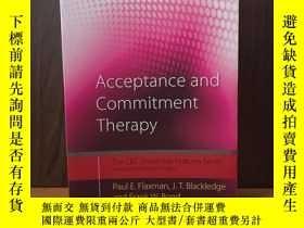 二手書博民逛書店Acceptance罕見and Commitment Therapy: Distinctive Features