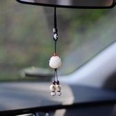 汽車掛件高檔女神抖音同款網紅菩提根蓮花掛飾吊墜 歐韓流行館