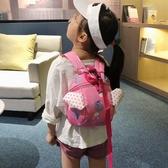 兒童節禮物可愛迷你雙肩包女寶寶防走失帶牽引繩背包潮韓國幼兒卡通小書包 阿卡娜