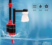 意牌魚缸電動換水器自動吸便器水族箱抽水吸水泵清理洗沙吸魚糞便 深藏blue YYJ