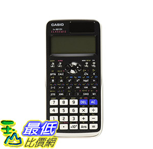 [107美國直購] 工程計算機 Casio FX-991EX Engineering/Scientific Calculator, Black