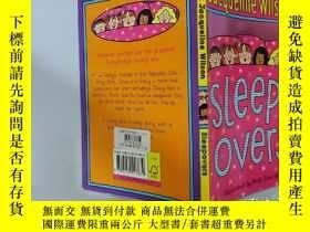 二手書博民逛書店罕見sleep-overs:過夜.Y200392