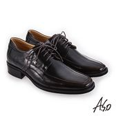 A.S.O 勁步雙核心 柔軟鞋面真皮鞋 茶色