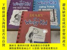 二手書博民逛書店DIARY罕見OF A WIMPY KID THE UGLY T