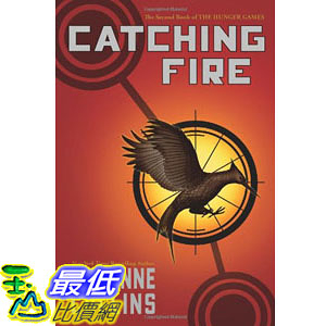 [104美國直購] 美國暢銷書排行榜 Catching Fire (The Second Book of the Hunger Games) Paperback
