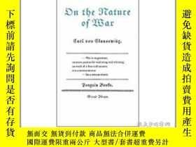 二手書博民逛書店罕見ye-9780141023946-On the Nature of WarY321650 Carl Von