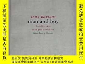 二手書博民逛書店英文原版罕見Man and Boy by Tony Parson