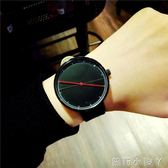 手錶男士簡約學生潮男錶女歐美復古大錶盤時尚 igo全館免運